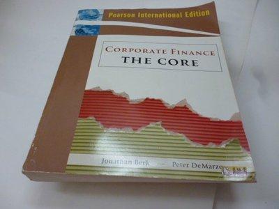 買滿500免運 / 崇倫《Corporate Finance: The Core》ISBN:0321564405│》
