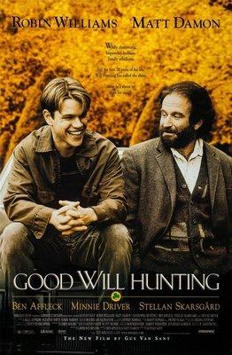 心靈捕手-Good Will Hunting (1997)原版電影海報