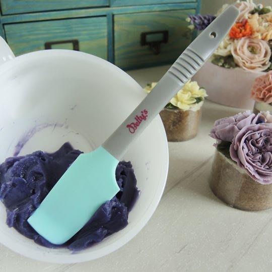 *愛焙烘焙* 焙蒂絲 Betty's 韓式裱花專用調色彎頭刮刀 SC4761S 矽膠 豆沙擠花 攪拌調色