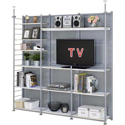 巴塞隆納─S180TV伸縮屏風電視架置物架