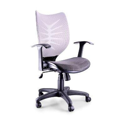 螞蟻雄兵 LV-932 網布辦公椅(灰色款) 電腦椅 職員椅 會議椅 電競椅 透氣舒適 人體工學 辦公桌椅 椅子