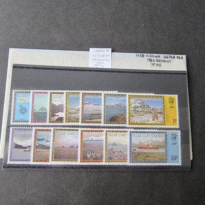 【雲品二】福克蘭群島自治邦Falkland Islands Dep 1984 Sc 1L38-50(dated) set MNH 庫號#B301 47207