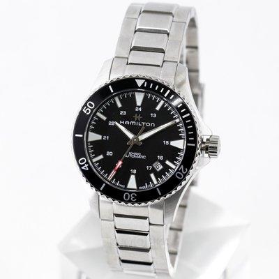 現貨 可自取 HAMILTON 漢米爾頓 H82335131 手錶 機械錶 40mm 卡其海軍系列蛙人 潛水 男錶