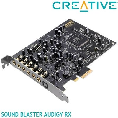 【MR3C】缺含稅公司貨 CREATIVE創新未來 Sound Blaster Audigy RX PCI-E 音效卡