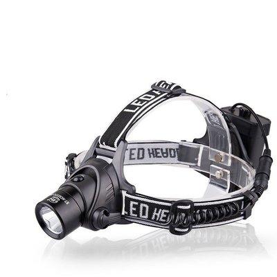 全新Q5T6強光頭燈充電18650遠射夜釣魚燈 礦燈led戶外頭戴燈 k49