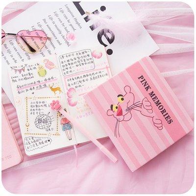 開學必備 書寫用品 筆少女心手賬本日式網紅手帳可愛小清新筆記本子創意學生款夢幻粉色