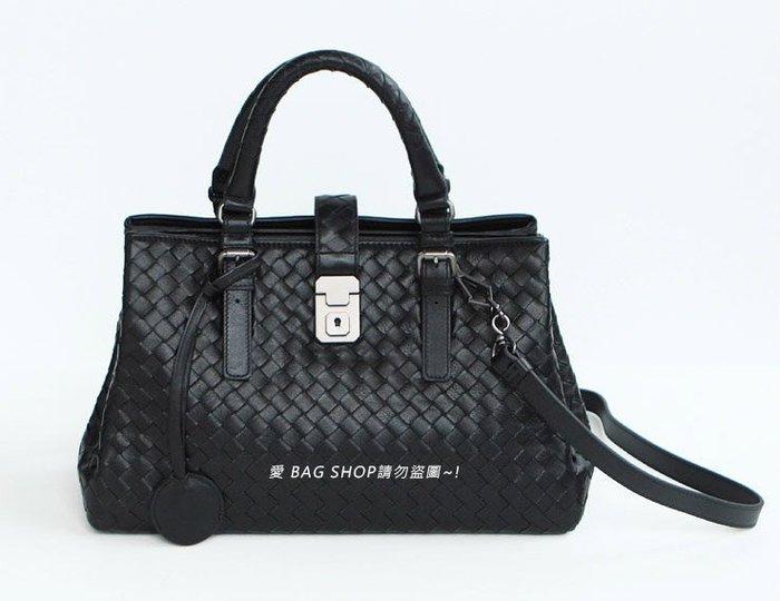 愛 BAG SHOP 韓國精品包 Whosbag 超質感 編織 義大利 小羊皮 Roma Tote 托特包 S 7290