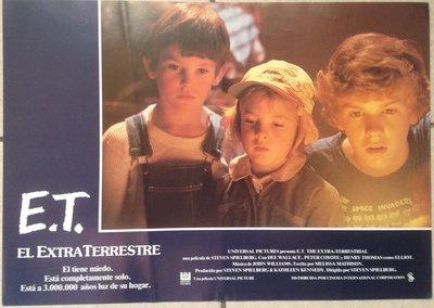經典中的經典-E.T.外星人(E.T. the Extra-Terrestrial)-西班牙文原版電影劇照(1982年)