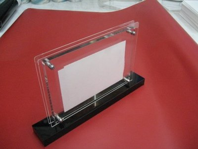 壓克力相框 桌上型DM 相片夾 造型壓克力 磁鐵壓克力 海報夾