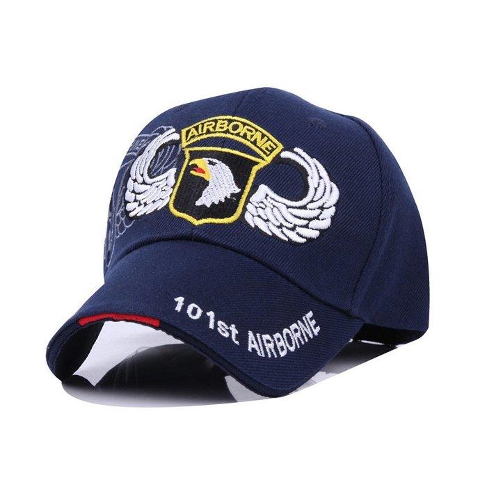 FIND 韓國品牌棒球帽 男女情侶 時尚街頭潮流 美軍101雄鷹刺繡 帽子 太陽帽 鴨舌帽 棒球帽