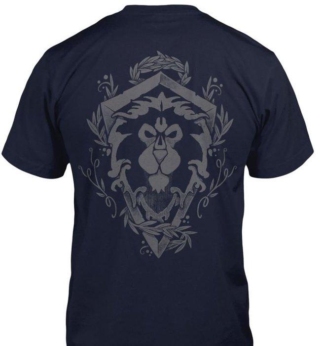 【丹】J!NX_WORLD OF WARCRAFT BONES CREST 魔獸世界 聯盟 部落 T恤 單一價