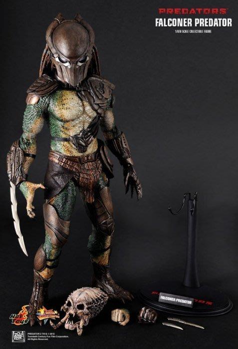 全新 Hot Toys 1/6 MMS137 Predators 終極戰士團 Falconer 飼鷹