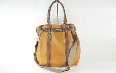 【Lanvin】全真皮斯文款 Casual tote bag 手袋 + 另有1個 pouch,男女合用, 100%真貨,80%~90% new 原$19,980
