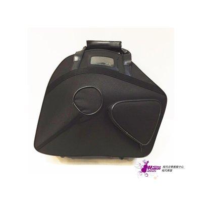 【現代樂器】法國號尼龍盒 French horn Bag Case 後背式 尼龍表面 可雙肩背 可拆式適用