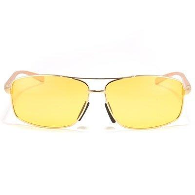 太陽眼鏡 偏光夜視鏡-夜間開車駕駛時尚男墨鏡73nm14[獨家進口][米蘭精品]