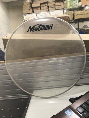福利品出清【華邑樂器】NewSound 15吋透明鼓皮-邊框有個小凹點 高雄市