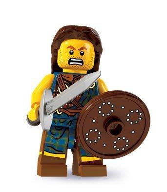 現貨【LEGO 樂高】積木/ Minifigures人偶系列: 6代人偶包抽抽樂 8827 | 高原戰士 Battler