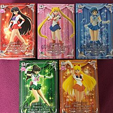Banpresto Sailor Moon Girls Memories 美少女戰士 景品五盒 日版