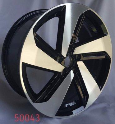 全新 類2018 福斯 GOLF GTI 18吋原廠樣式鋁圈 5X112 8J ET45 順謚50043