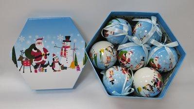 海迪六一兒童禮物 兒童掛件 紙制聖誕老人雪人記憶球造型掛件用品
