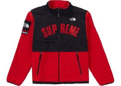 「Rush Kingdom」Supreme TNF Arc Logo Denali Fleece Jacket 羊毛外套