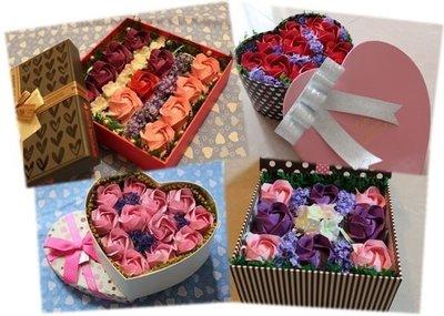情人節禮物 手摺玫瑰花 摺紙玫瑰花 禮盒 拍拖 結婚 周年 求婚 畢業 特別 創意 小手工 禮物 diy 女朋友