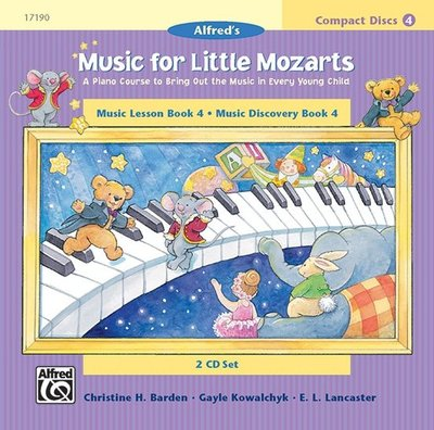 【599免運費】Music for Little Mozarts, Level 4: CD 2 00-17190