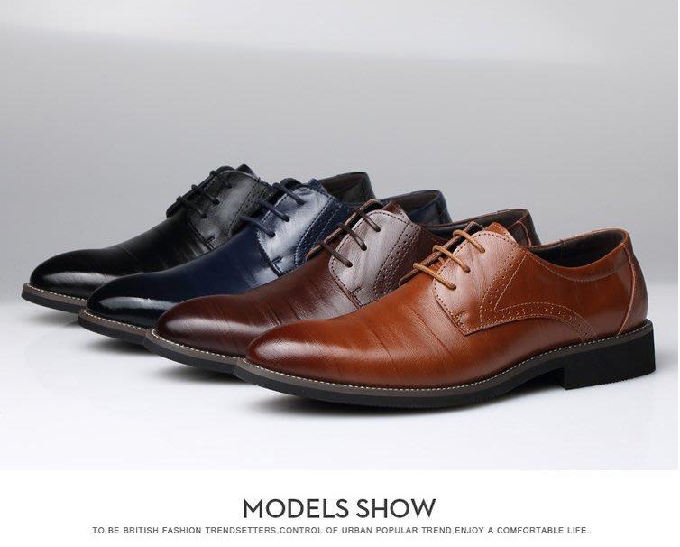 『老兵牛仔』CK-2538正品二層牛皮商務休閒皮鞋/二層牛皮皮鞋/時尚/彈力/耐摩/個性