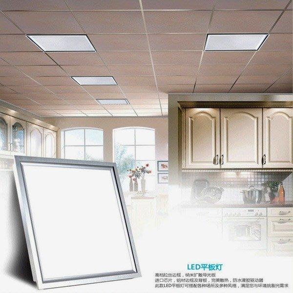 5Cgo【代購】高亮型LED平板面板燈T BAR高效省電10W間接光柔和護眼輕鋼架吸頂燈 另有10~48W及安裝配件含稅