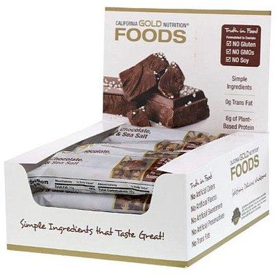 【美加直銷】California Gold Gold Bar 營養棒 (12條) 高蛋白質 低糖低脂高纖
