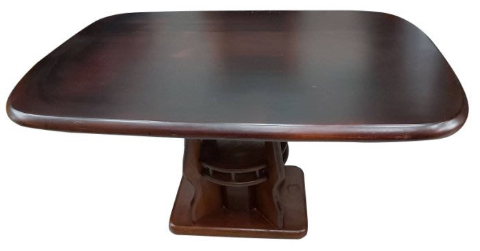 樂居二手家具(北) 便宜2手傢俱拍賣E92110*胡桃色餐桌*櫥櫃 隔間屏風櫃 高低櫃 置物架 餐桌椅