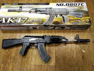 哈哈玩具屋~射擊玩具 穿越火線 AK-47 NO.0807C 限量版 6MM BB子彈