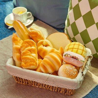 模擬食物麵包模型 法式麵包道具幼兒玩具食品 櫥窗樣板擺設攝影道具(5入款式隨機)_☆優購好SoGood☆