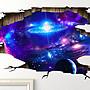[MAGIC 999]魔術道具 3D貼紙- 宇宙款 拼好尺...