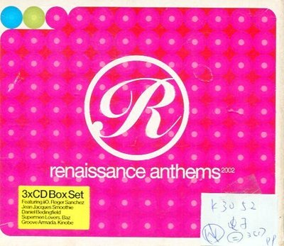 *真音樂* RENAISSANCE ANTHEMS 3CD 二手 K30152