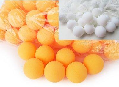 *桌球王子*40+ 1星等級 乒乓球 一包50顆 新塑膠 ABS新材料 無標 一星等級 新料球 新塑料練習球 空白乒乓球