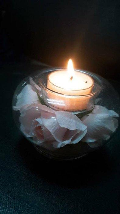 餐桌氣氛花瓶蠟燭