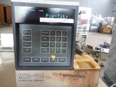 KEM MKC-210 Karl-Fischer Moisture Titrator 卡式水份計