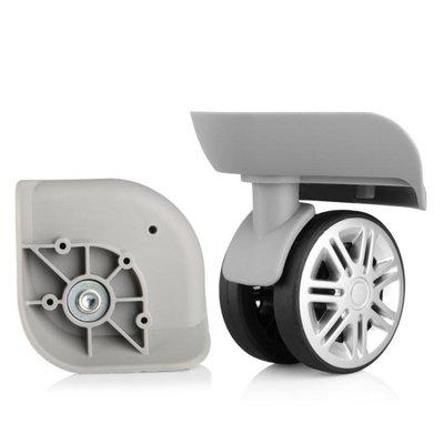 行李箱輪子 探營者行李箱萬向輪配件輪子旅行箱密碼拉桿箱配件萬向輪維修腳輪  限時優惠