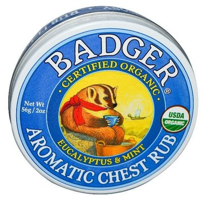 §少奶奶代購§ 大罐 Badger Aromatic Chest Rub 鼻塞走開膏 56g