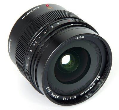 LEICA DG SUMMILUX 12mm / F1.4 ASPH