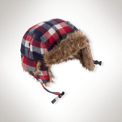 全新美國 Ralph Lauren Polo 禦寒保暖遮耳防寒帽 大童8-20T