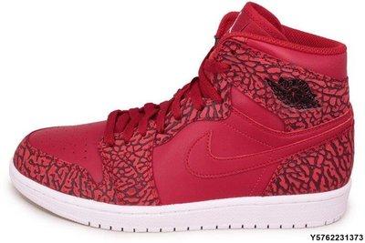 Nike Air Jordan 1 retro HIGH 839115-600 喬丹AJ-1 紅黑爆裂紋 舌白跳跳人休閒 台北市