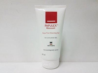 法國製造 papulex Papulex moussant非肥皂超溫和150mL cleansing gel cream made in france原$190