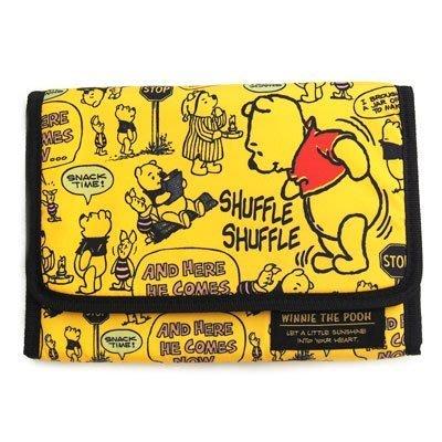 【小糖雜貨舖】日本 母子手帳冊 收納健保卡 信用卡 寶寶寫真卡 存摺 硬幣 照片 - 小熊維尼