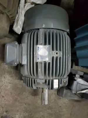 【東和電機】東元15HP(11KW)4P馬達 中古馬達