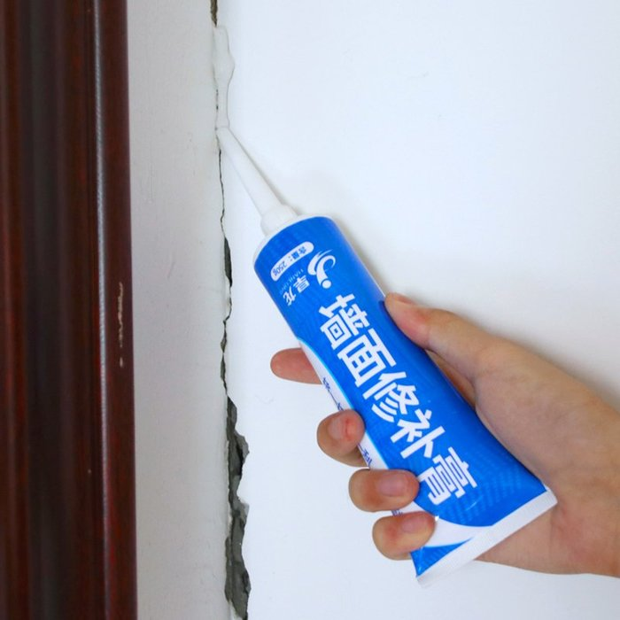 爆款補墻膏防水防潮防霉墻面修補膏白色翻新膩子粉乳膠漆修復神器家用#膠水#修補#防水