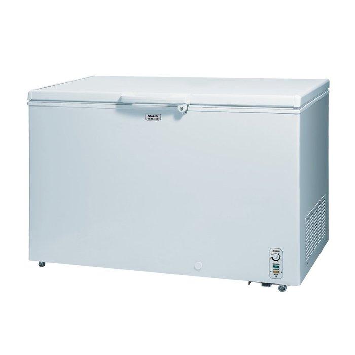 SANLUX 台灣三洋 376L 上掀式 冷凍櫃 SCF-376G $12100