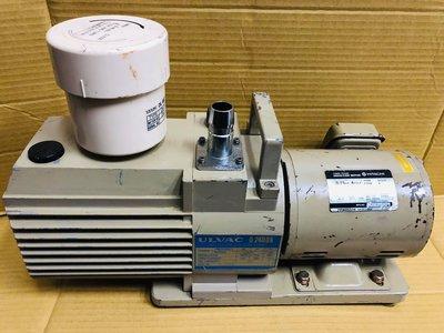 ULVAC D-240DK 1HP 三相220V 油式真空幫浦-真空脫泡-真空含浸-真空吸附-真空翻模-