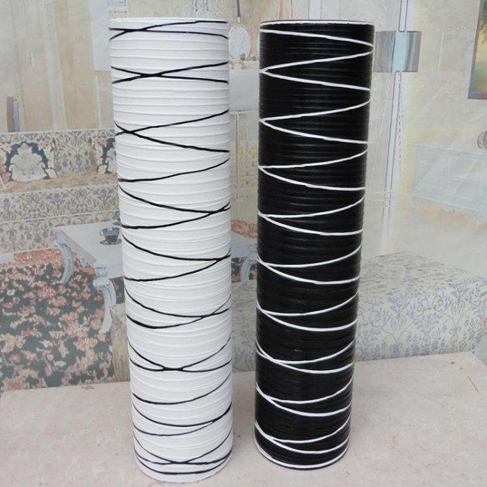 花瓶仿陶瓷落地大花瓶歐式簡約裝飾現代客廳乾花插花花器創意擺件 igo